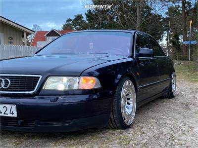 1997 Audi A8 Quattro - 19x10 42mm - Radi8 R8t12 - Coilovers - 255/30R19