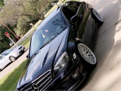 2009 Mercedes-Benz C63 AMG - 19x9 25mm - Rotiform Rse - Air Suspension - 215/35R19