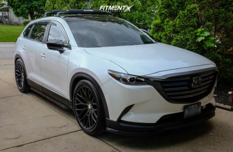 2018 Mazda CX-9 - 22x10.5 35mm - Asanti ABL-21 - Stock Suspension - 285/40R22