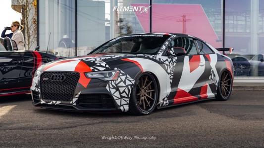 2013 Audi RS5 - 20x9 25mm - Ferrada Fr4 - Air Suspension - 275/30R20