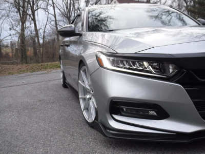 2018 Honda Accord - 19x8.5 40mm - Inovit Speed - Lowering Springs - 235/40R19