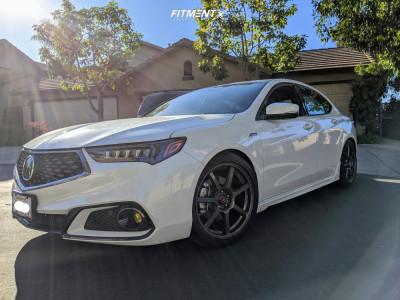 2019 Acura TLX - 19x8.5 35mm - Konig Ultraform - Lowering Springs - 245/40R19