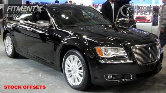 2011 Chrysler 300 - 20x8 24mm - Stock Stock - Stock Suspension - 245/45R20
