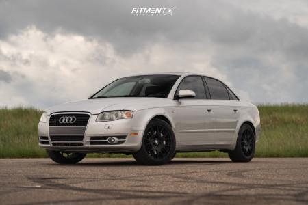 2006 Audi A4 Quattro - 18x8.5 35mm - BBS Ch - Stock Suspension - 245/40R18