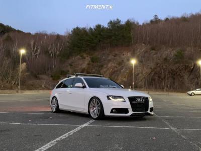 2009 Audi A4 Quattro - 19x8.5 35mm - Rotiform Spf - Coilovers - 255/35R19