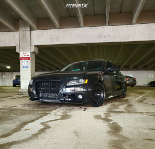 2012 Audi A4 Quattro - 19x8.5 35mm - Rotiform Ccv - Coilovers - 235/25R19