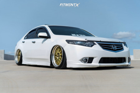 2014 Acura TSX - 19x9.5 30mm - Work Vs Xx - Coilovers - 235/35R19