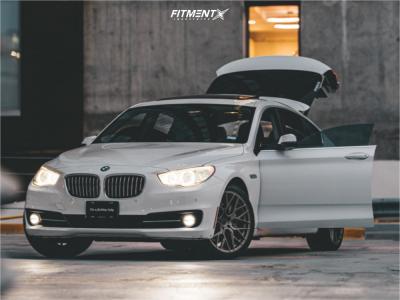 2015 BMW 535i GT - 20x9 30mm - Aodhan Ls009 - Stock Suspension - 245/40R20