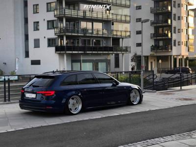 2018 Audi A4 Quattro - 19x10 10mm - Work Ryver - Air Suspension - 215/35R19