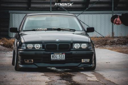 1996 BMW 328i - 17x8.5 15mm - Ac Schnitzer Type 2 - Air Suspension - 215/40R17