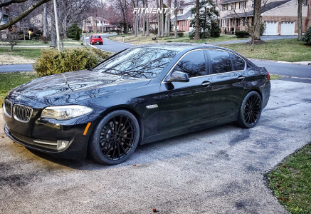 2012 BMW 535i xDrive - 20x8.5 40mm - TSW Mallory - Lowering Springs - 255/35R20