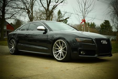 2009 Audi S5 - 20x10 25mm - Verde Insignia - Lowering Springs - 255/35R20