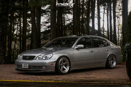 2000 Lexus GS300 - 18x9.5 15mm - Aodhan Ds05 - Coilovers - 225/35R18