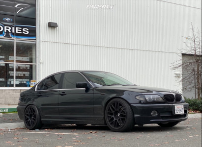 2003 BMW 330xi - 18x8.5 15mm - Drag Dr37 - Coilovers - 225/40R18