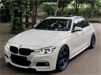 2016 BMW 330i - 19x8.5 36mm - Volk Te37 Ultra - Lowering Springs - 245/35R19