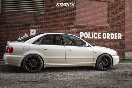 2001 Audi S4 - 19x8.5 35mm - Rotiform Kps - Coilovers - 235/35R19