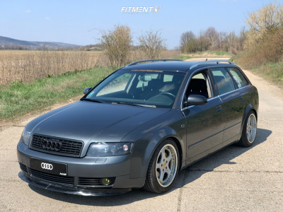 2003 Audi A4 - 17x8 35mm - RH AG Cup - Coilovers - 215/45R17