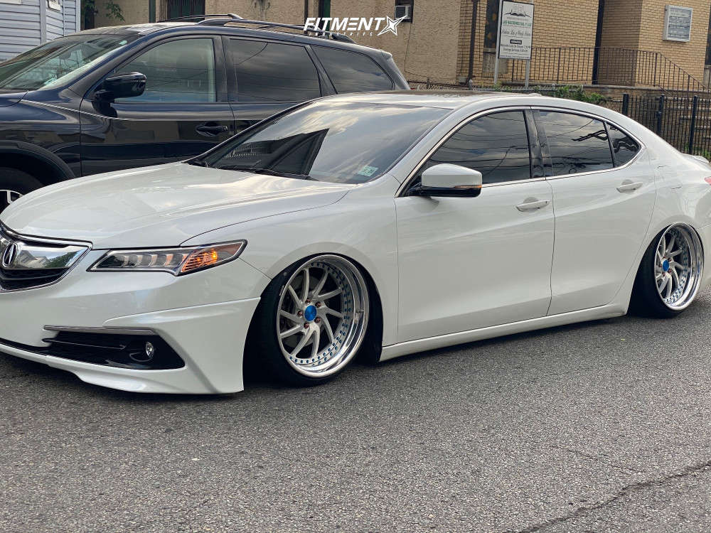Flush 2015 Acura TLX with 19x10 GMR Gs108 & Achilles Atr Sport 225/30 on Stock - Fitment Industries Gallery