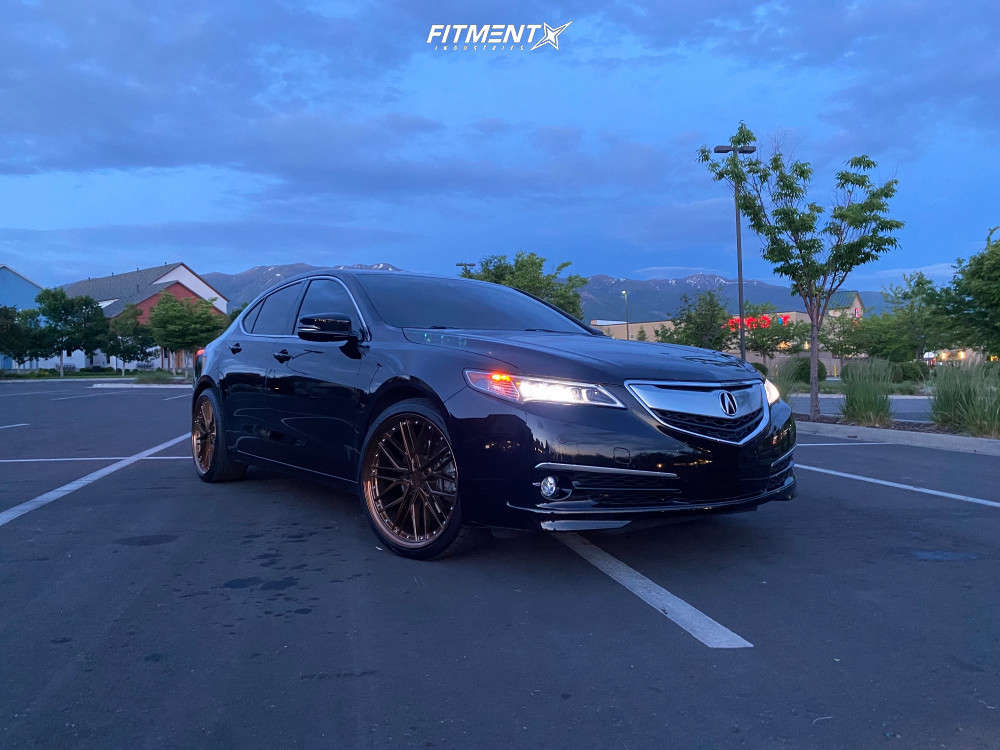 HellaFlush 2015 Acura TLX with 20x9 XXR 571 & Toyo Tires Extensa Hp Ii 245/35 on Stock Suspension - Fitment Industries Gallery