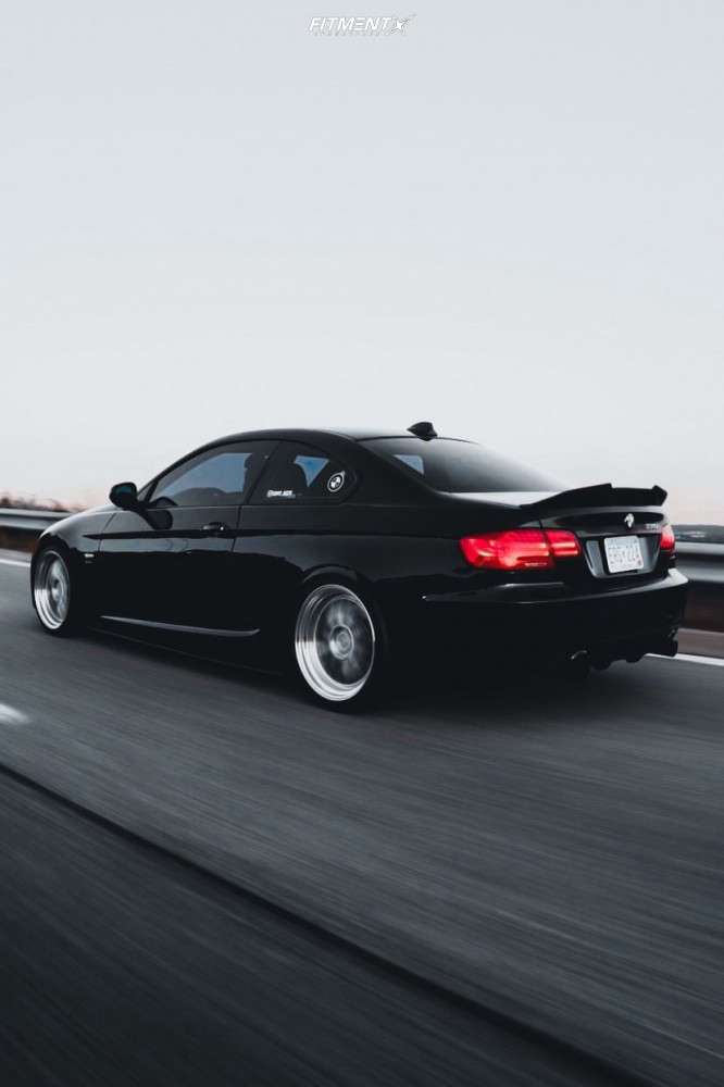 Flush 2011 BMW 335is with 19x8.5 ESR Sr05 and Michelin Pilot Sport 4 S 225/35 on Coilovers - Fitment Industries Gallery