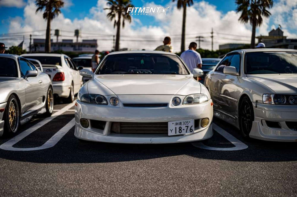 Flush 1996 Lexus SC300 with 18x9 Work Emotion D9r and Z-Rex ZTS-5000 245/40 on Coilovers - Fitment Industries Gallery