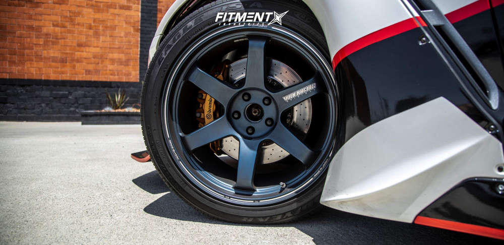 Flush 2009 Nissan GT-R with 20x11 Volk Te37 Ultra and Pirelli P-zero 315/35 on Coilovers - Fitment Industries Gallery