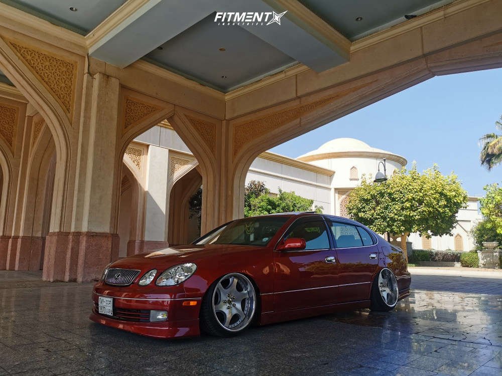 Poke 2001 Lexus GS300 with 19x10 Weds Kranze Bazreia & Hankook 595 Evo 225/35 on Air Suspension - Fitment Industries Gallery