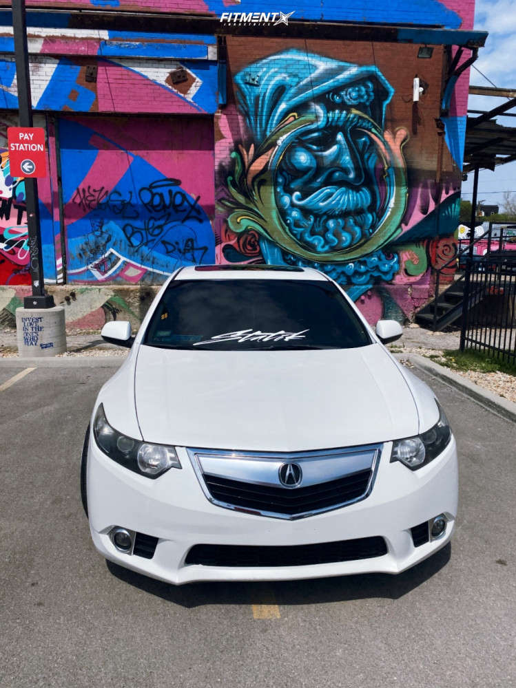 Poke 2012 Acura TSX with 19x9.5 Aodhan Ds07 & Federal 595 Rs-rr 235/35 on Coilovers - Fitment Industries Gallery