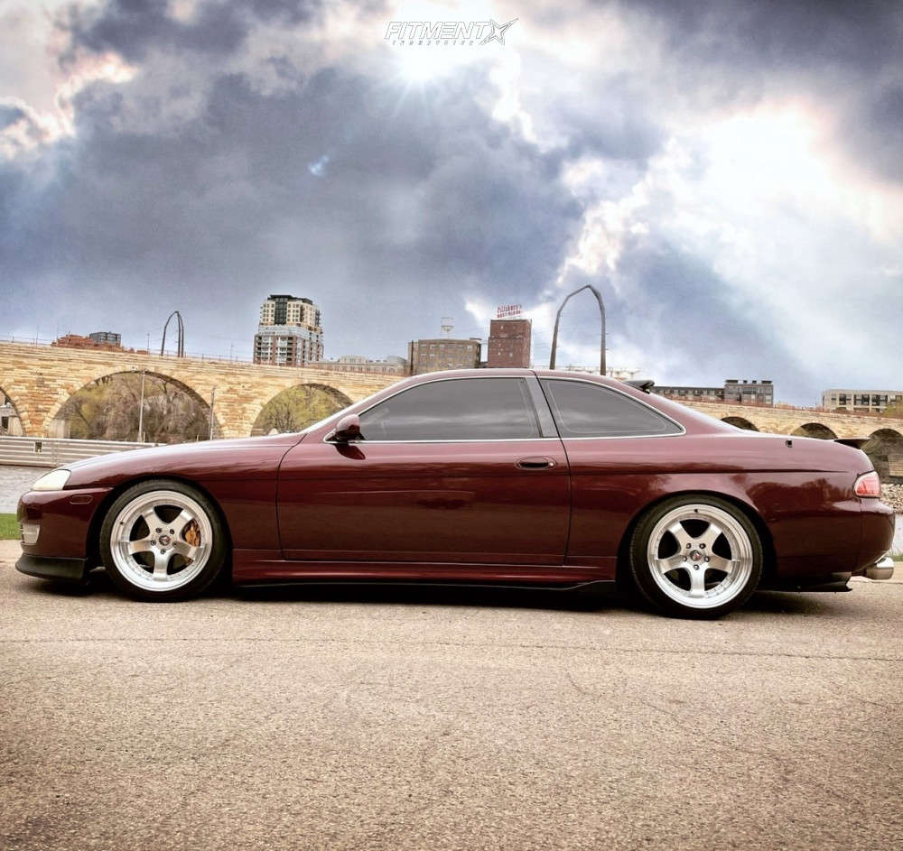 Poke 1996 Lexus SC300 with 18x10.5 Aodhan Ah03 and Toyo Tires Proxes T1 Sport 235/40 on Coilovers - Fitment Industries Gallery