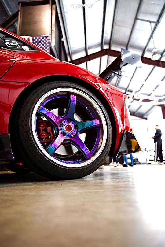Flush 2020 Toyota GR Supra with 19x9.5 Work Emotion T5r & Michelin Pilot Super Sport 255/35 on Lowering Springs - Fitment Industries Gallery