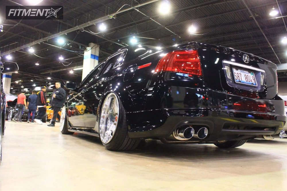 Tucked 2006 Acura TL with 19x10 Weds Kranze 607d & Nankang NS-20 225/35 on Coilovers - Fitment Industries Gallery