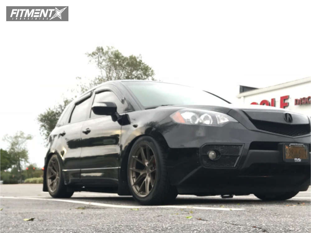 Nearly Flush 2011 Acura RDX with 19x9.5 Aodhan Ah07 and Ohtsu Fp8000 275/35 on Coilovers - Fitment Industries Gallery