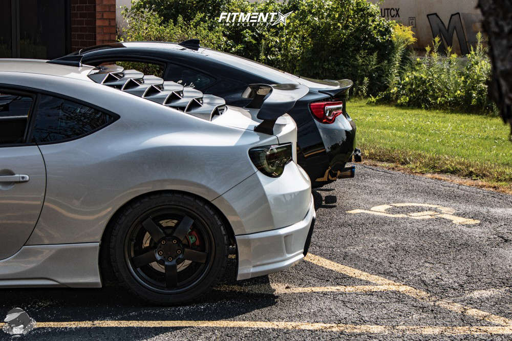 Nearly Flush 2013 Scion FR-S with 17x8 TSW Rockingham & BFGoodrich G-force Comp-2 A/s 245/40 on Coilovers - Fitment Industries Gallery