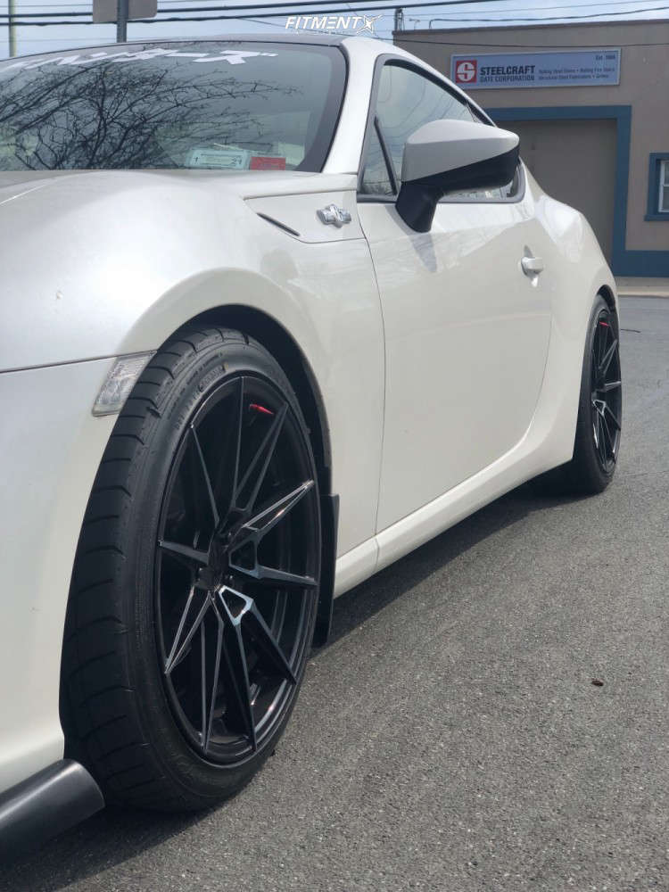 Nearly Flush 2013 Scion FR-S with 18x8.5 XXR 567 & Nitto Neo Gen 225/35 on Lowering Springs - Fitment Industries Gallery