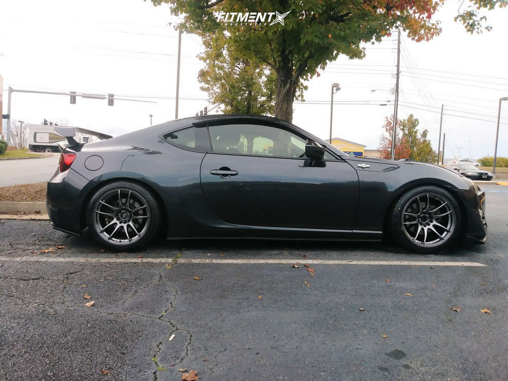 HellaFlush 2013 Scion FR-S with 17x9 JNC Jnc030 & Nankang NS-25 235/40 on Coilovers - Fitment Industries Gallery