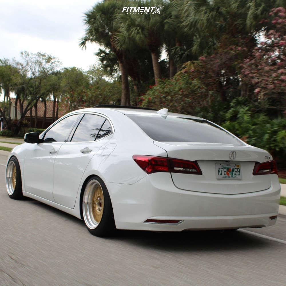 Nearly Flush 2015 Acura TLX with 18x9.5 JNC Jnc003 & Westlake Sa07 255/40 on Coilovers - Fitment Industries Gallery