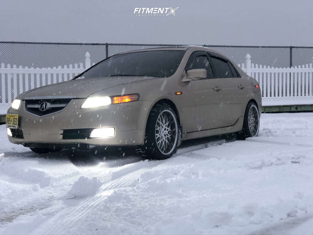 Poke 2006 Acura TL with 18x8.5 TSW Rascasse & BFGoodrich All Terrain Ta Ko2 215/40 on Stock Suspension - Fitment Industries Gallery