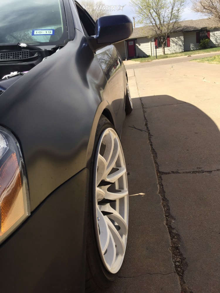 Tucked 2004 Acura RSX with 17x9 Vors Tr4 & Federal 595 Rs-r 205/40 on Coilovers - Fitment Industries Gallery