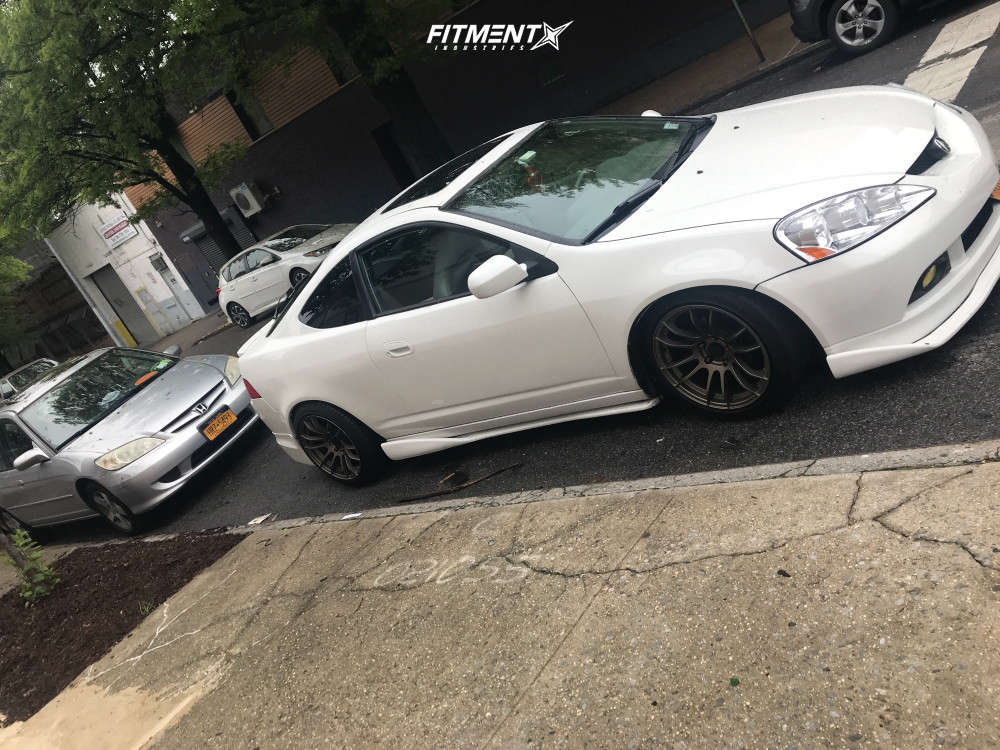 Nearly Flush 2006 Acura RSX with 17x9 AVID1 AV20 & Achilles Atr Sport 225/45 on Coilovers - Fitment Industries Gallery
