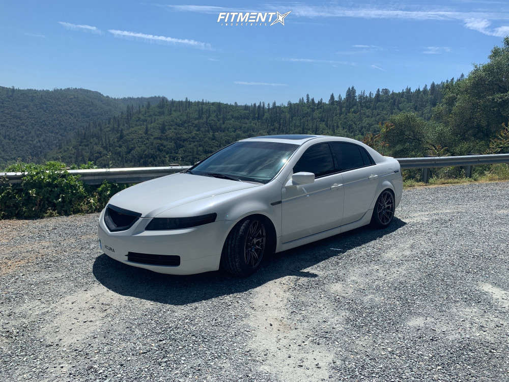 Tucked 2006 Acura TL with 18x8.75 XXR 527 & Atlas Force Uhp 235/40 on Coilovers - Fitment Industries Gallery