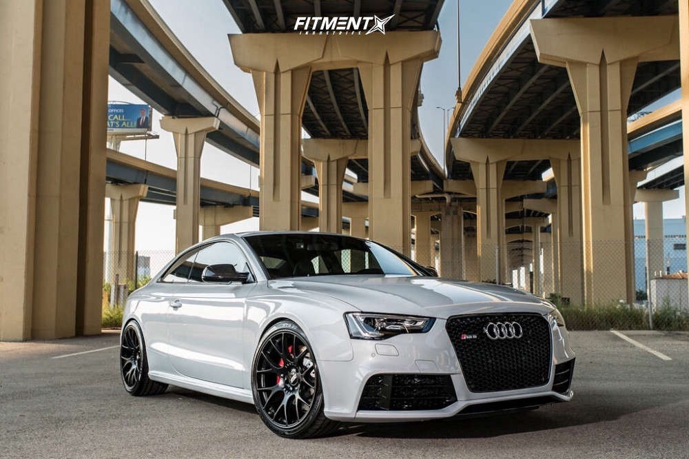 Nearly Flush 2015 Audi RS5 with 20x10.5 BBS Ch-r & Sumitomo Htr Ziii 285/30 on Coilovers - Fitment Industries Gallery