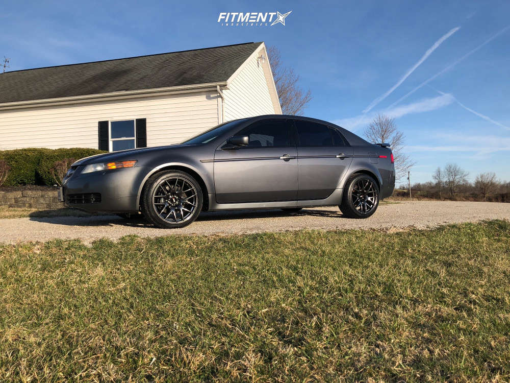 Flush 2006 Acura TL with 18x8.75 XXR 530 & Toyo Tires Extensa A/s 235/40 on Stock Suspension - Fitment Industries Gallery