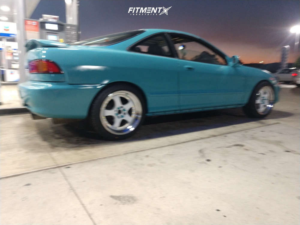Poke 1994 Acura Integra with 17x9 Aodhan Ah03 & Federal Ss-595 235/40 on Stock Suspension - Fitment Industries Gallery
