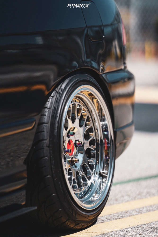 Flush 2000 Acura Integra with 16x9 Whistler Sk1 & Federal All Season 205/45 on Coilovers - Fitment Industries Gallery