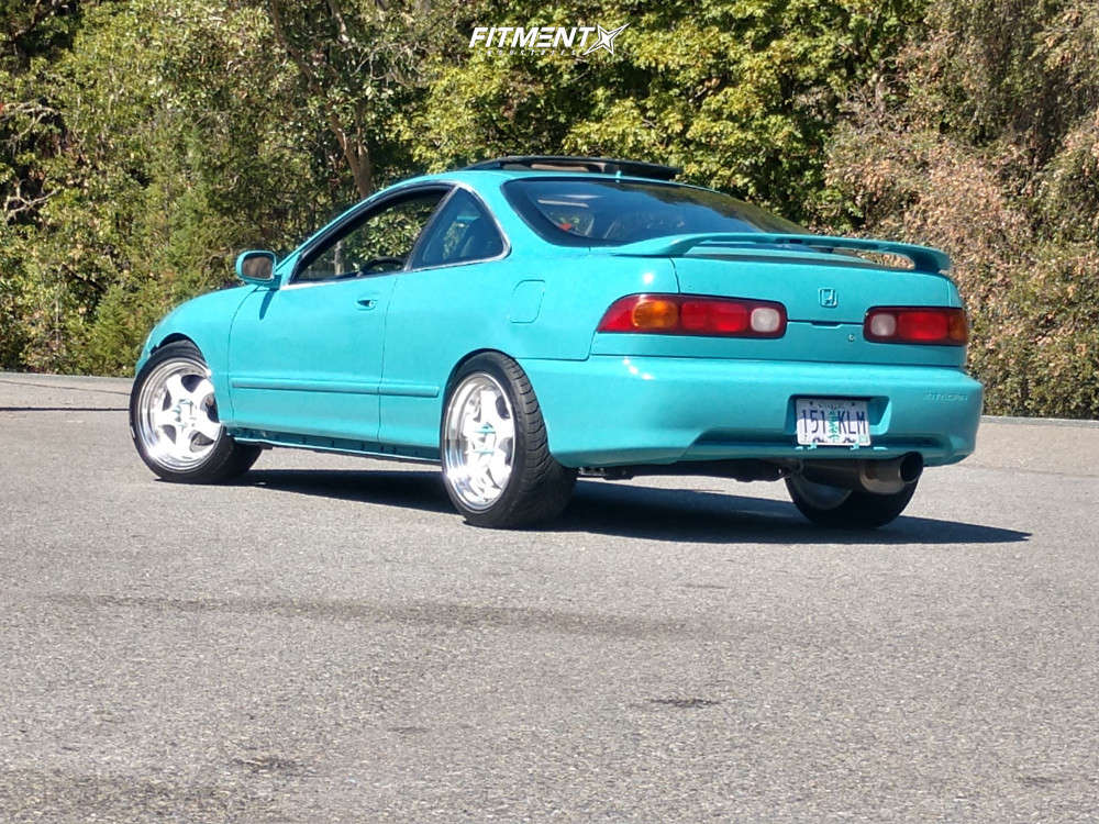 Poke 1994 Acura Integra with 17x9 Aodhan Ah03 & Federal 595 Ss 235/40 on Coilovers - Fitment Industries Gallery