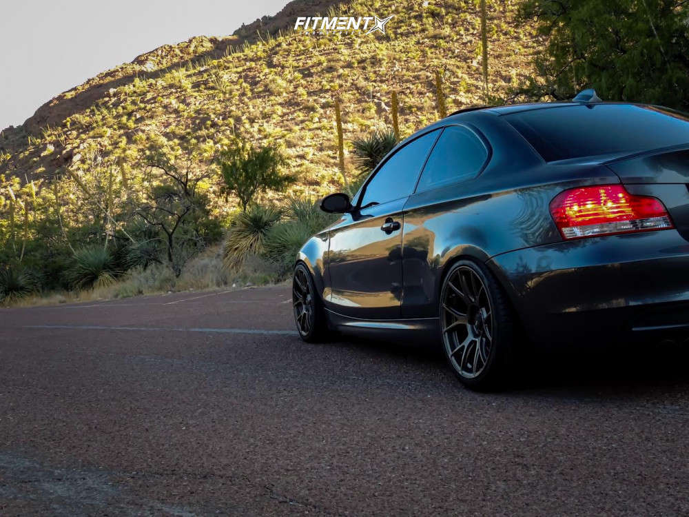 Nearly Flush 2008 BMW 135i with 18x8.5 Konig Ampliform & Hankook Ventus V12 Evo 2 225/35 on Coilovers - Fitment Industries Gallery