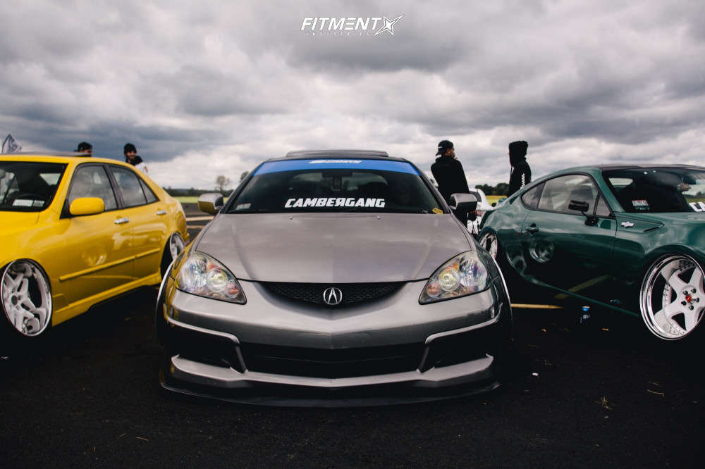 HellaFlush 2005 Acura RSX with 18x10 SSR Koenig & Federal 595 Ss 215/35 on Air Suspension - Fitment Industries Gallery