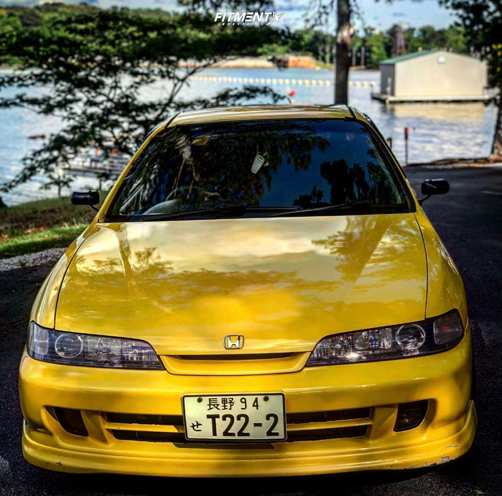 Tucked 1994 Acura Integra with 16x8 Volk Ce28n & Federal 595 Rs-r 205/45 on Air Suspension - Fitment Industries Gallery