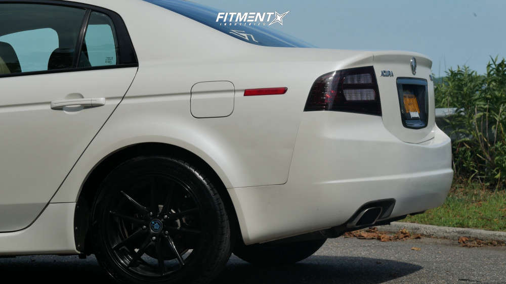 Nearly Flush 2006 Acura TL with 17x8 Konig Oversteer & Hankook Ventus V12 Evo 2 235/45 on Coilovers - Fitment Industries Gallery