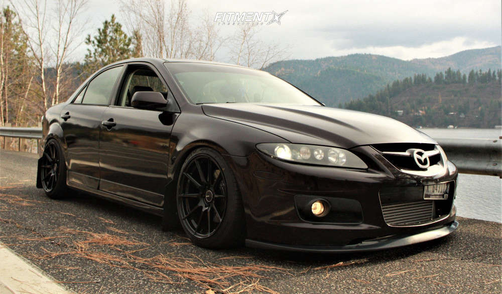 HellaFlush 2006 Mazda MazdaSpeed6 with 18x9.5 Enkei Ts-10 & Toyo Tires Proxes Sport 235/40 on Coilovers - Fitment Industries Gallery